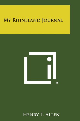 9781494122133: My Rhineland Journal