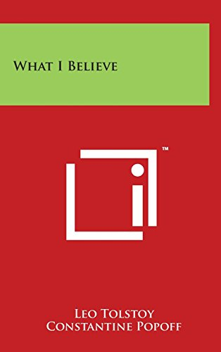 9781494155995: What I Believe