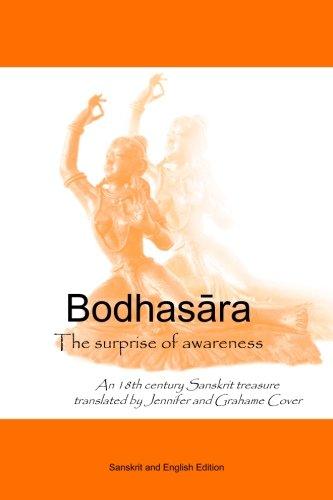 Bodhasara The surprise of awareness, the Sanskrit and English version: An 18th century Sanskrit ...