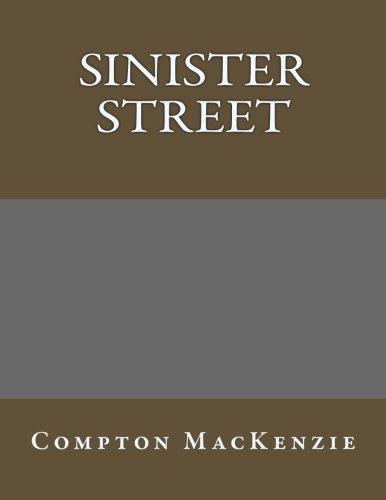 9781494208806: Sinister Street