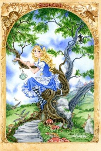 9781494210922: Alice's Tea Time Wonderland Journal