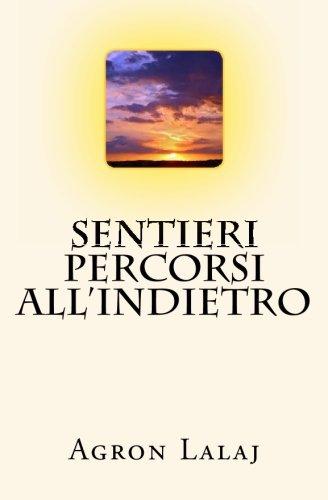 Sentieri Percorsi All indietro (Paperback): Agron Lalaj