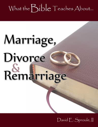 9781494220402: Marriage, Divorce & Remarriage