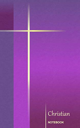 9781494230739: Christian Notebook: Simple Cross - Purple ( journal / cuaderno / portable / gift ) (Religious & Spiritual)