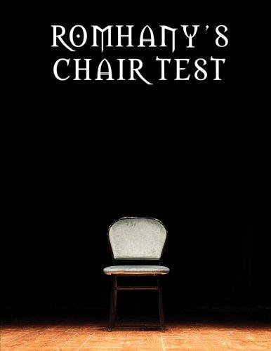 9781494240141: Romhany's Chair Test
