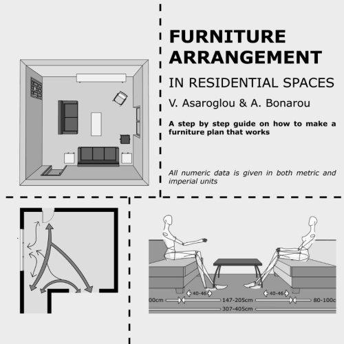 9781494270506: Furniture arrangement: in Residential spaces