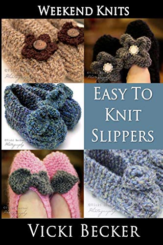 Easy to Knit Slippers (Paperback)