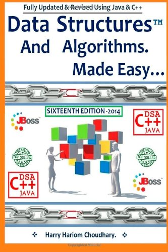 9781494317928: Data Structures and Algorithms Made Easy: : Data Structure and Algorithmic Puzzles Using C & C++ And Java.: 2 (Data Structure and Algorithms)