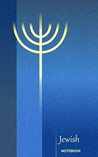 Jewish Notebook: Golden Temple Menorah ( Journal: Smart Bookx