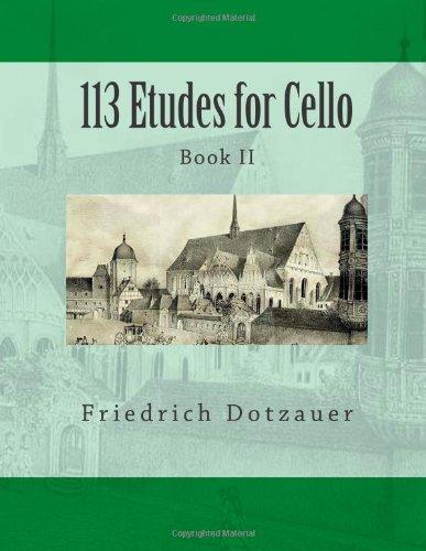 9781494330088: 113 Etudes for Cello: Book II (Volume 2)