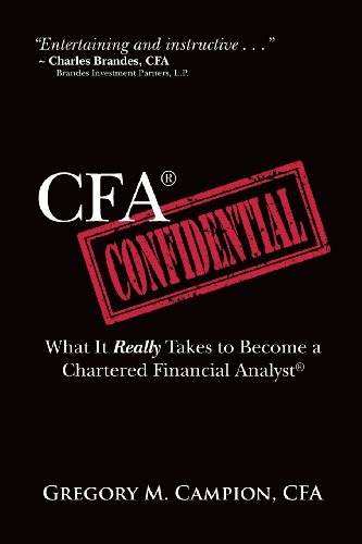 9781494341350: CFA Confidential: What It Really Takes to Become a Chartered Financial Analyst