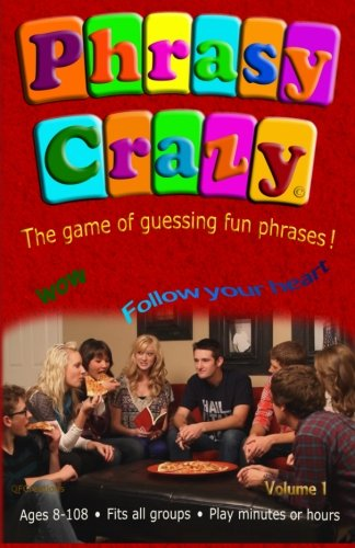 Phrasy Crazy: Guessing Fun phrases! (Phrasy Crazy Game) (Volume 1): Ross, Merlin; Rice, Wayne