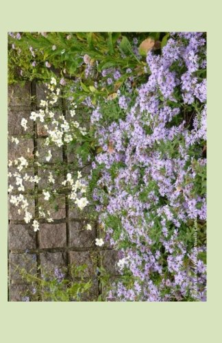 Country Garden Wall 2014 Weekly Calendar: 2014 Weekly Calendar With A Photo Of A Country Garden Wall With Purple Asters And White Daisies