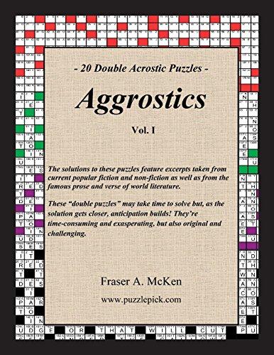 Aggrostics Vol. I: Fraser A. McKen