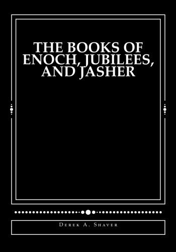 9781494420345: The Books of Enoch, Jubilees, And Jasher: [Large Print Edition]