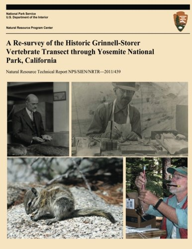 A Re-survey of the Historic Grinnell-Storer Vertebrate Transect through Yosemite National Park, ...