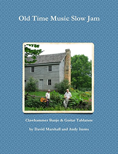 9781494436100: Old Time Music Slow Jam: Clawhammer Banjo & Guitar Tablature