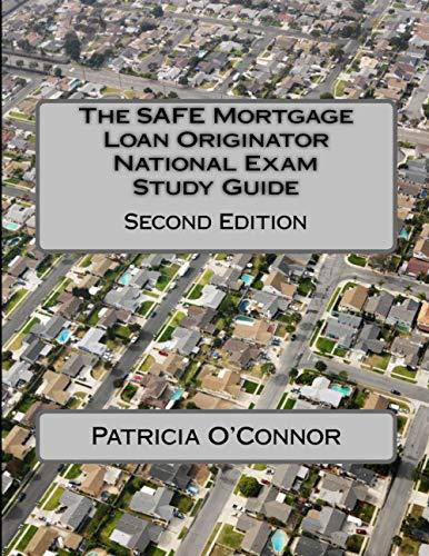 9781494465544: The SAFE Mortgage Loan Originator National Exam Study Guide: Second Edition