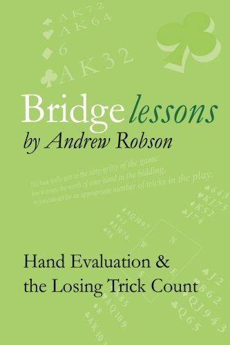 9781494481063: Bridge Lessons: Hand Evaluation & the Losing Trick Count