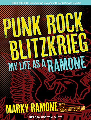 Punk Rock Blitzkrieg: My Life as a Ramone (Compact Disc): Marky Ramone