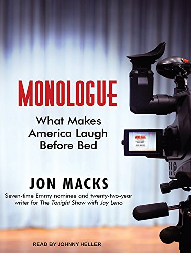 Monologue: What Makes America Laugh Before Bed: Jon Macks