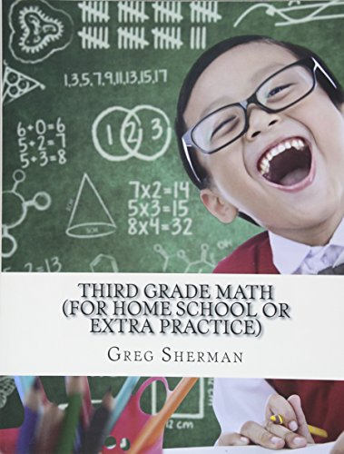 9781494721459: Third Grade Math (For Home School or Extra Practice)