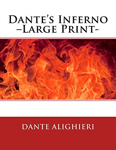 9781494728502: Dante's Inferno –Large Print-