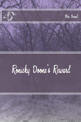 9781494737740: Ronicky Doone's Reward