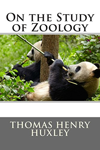 9781494787943: On the Study of Zoology