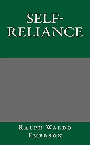9781494790325: Self-Reliance