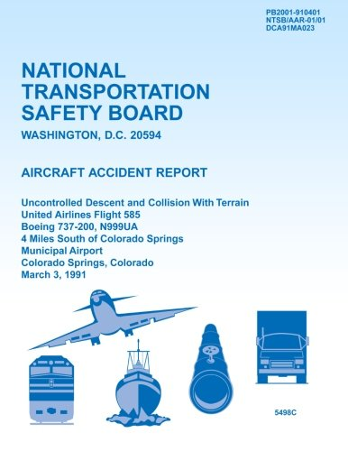 Aircraft Accident Report Uncontrolled Descent and Collision: National Transportation Safety