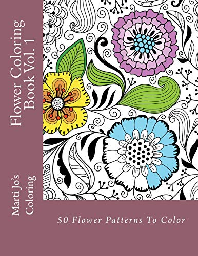 9781494797669: Flower Coloring Book Vol. 1