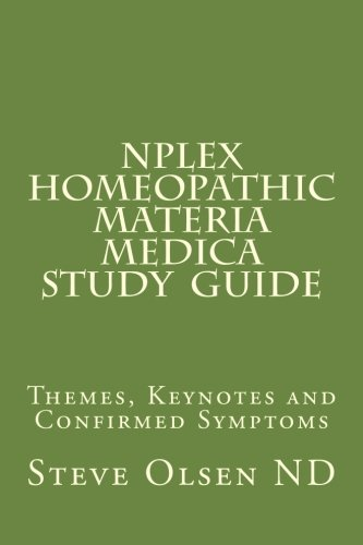9781494871413: NPLEX Homeopathic Materia Medica Study Guide: Keynotes on Basic Homeopathic Remedies