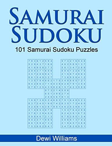 Samurai Sudoku: 101 Samurai Sudoku Puzzles (Paperback): Dewi Williams