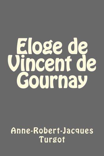 9781494914813: Eloge de Vincent de Gournay
