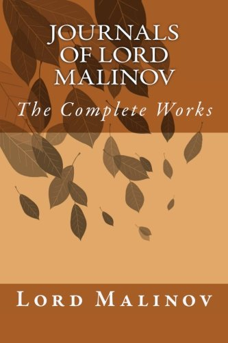 9781494926847: Journals of Lord Malinov