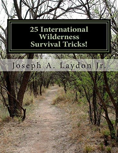 9781494973568: 25 International Wilderness Survival Tricks!