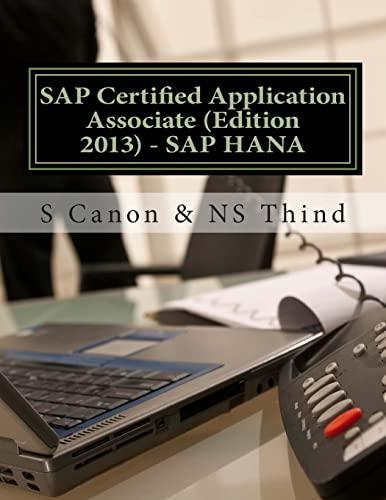 9781494980542: SAP Certified Application Associate (Edition 2013) - SAP HANA