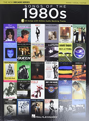 Songs of the 1980s by hal leonard publishing corporation for 1980s house music