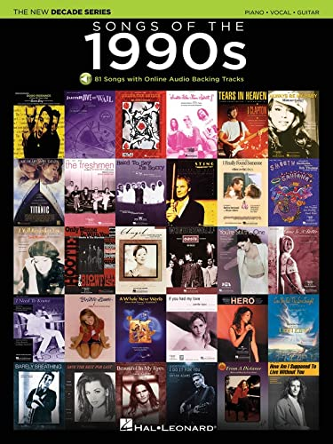 Songs of the 1990s: The New Decade Series with Online Play-Along Backing Tracks: Hal Leonard Corp.