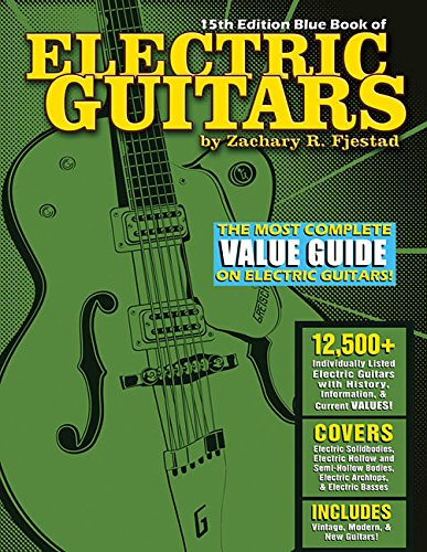9781495003950: 15th Edition Blue Book of Electric Guitars