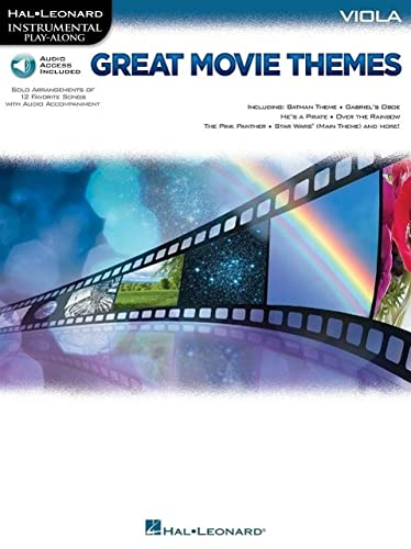 9781495005619: Great Movie Themes: for Viola Instrumental Play-Along