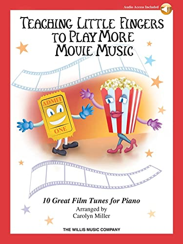 9781495006340: Teaching Little Fingers to Play More Movie Music