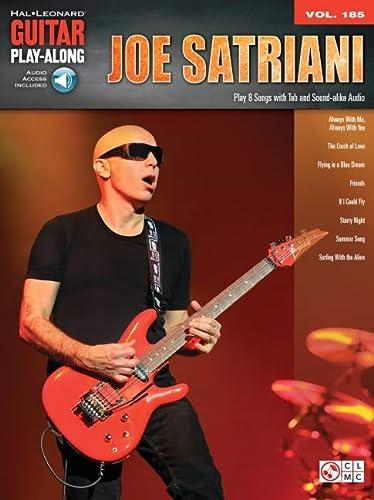 9781495006944: Joe Satriani: Guitar Play-Along Vol. 185