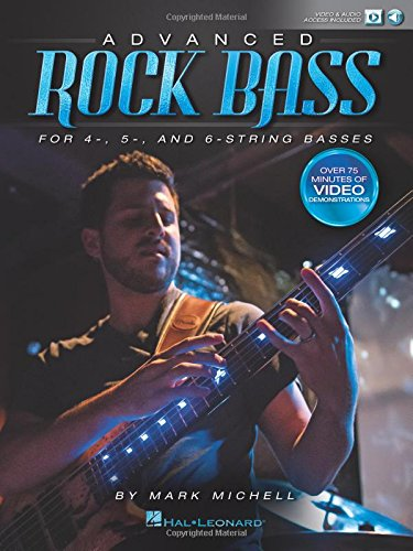9781495008993: Advanced Rock Bass: for 4-, 5- and 6-String Basses