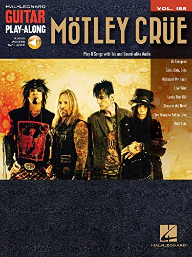 9781495009150: Motley Crue: Guitar Play-Along Volume 188