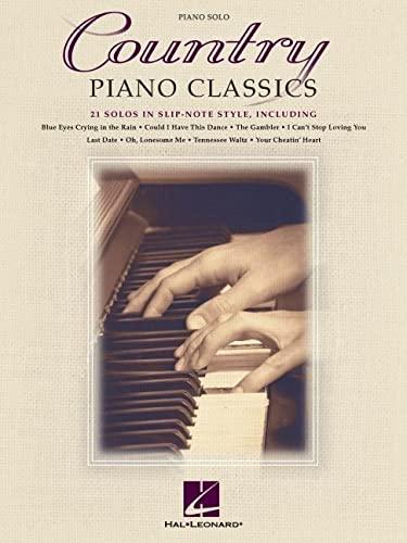9781495009273: Country Piano Classics