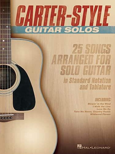 9781495009655: Carter-Style Guitar Solos