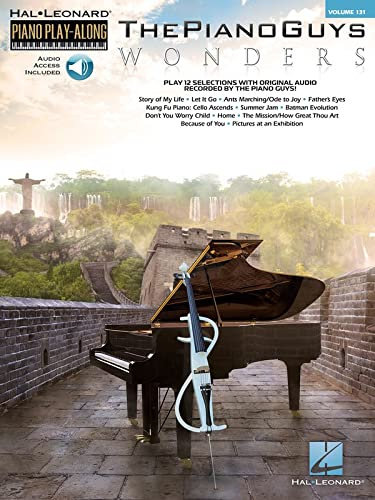 9781495009730: The Piano Guys - Wonders: Piano Play-Along Volume 131 (The Piano Guys - Hal Leonard Piano Play-Along)