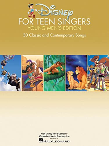Disney for Teen Singers - Young Men's Edition: Classic and Contemporary Songs Especially ...